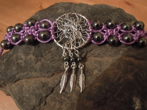 Dreamcatcher Bracelet jewellery making tutorials