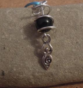 Goddess Pendant tutorial jewellery making tutorials